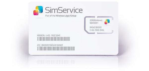 SIM-kort til SMS